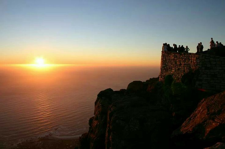 Sunset Table Mountain Cape Town