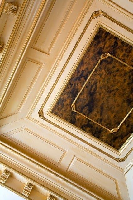 Eye for design decorating with tortoise shell tortoise Rules for painting ceilings