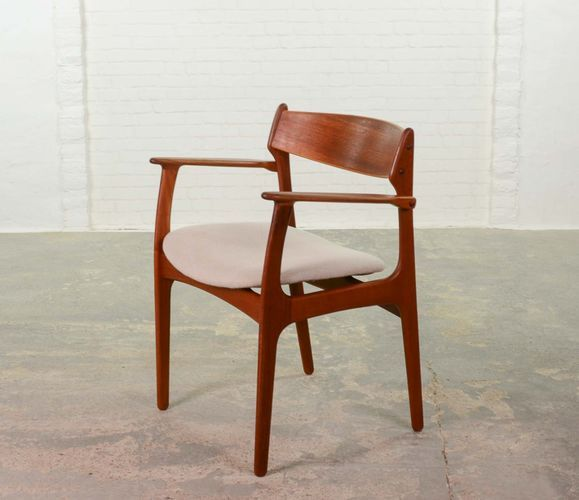 Mid Century Danish Armchair By Niels Kofoed In 2020 Danish Armchair Mid Century Danish Furniture Mid Century Danish