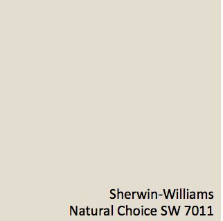 Sherwin-Williams Natural Choice SW 7011 #GlobalSpice ... Guest Bed/Bath