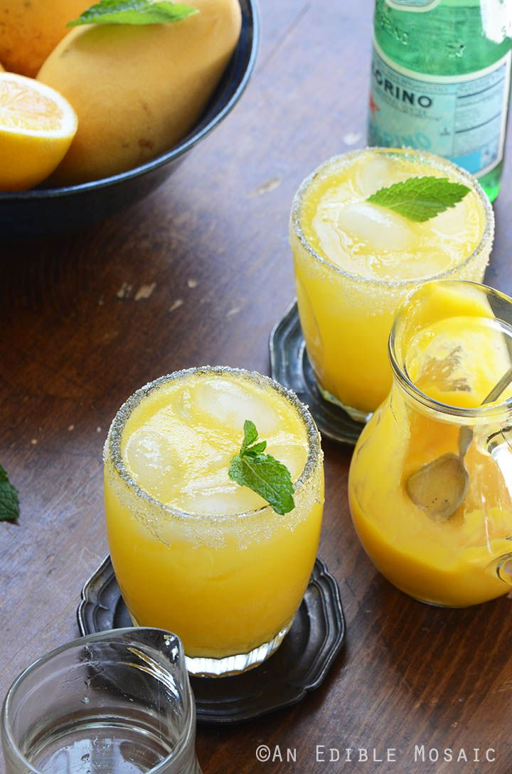 Mango Meyer Lemon Margarita Mocktails are the perfect family-friendly non-alcoholic drink for a party! Just because I don't drink alcohol doesn't mean I'm not into cutsie little drinks. In fact, if...