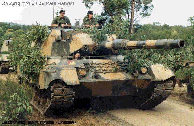 Australian Army Ex-MBT LEOPARD AS1.