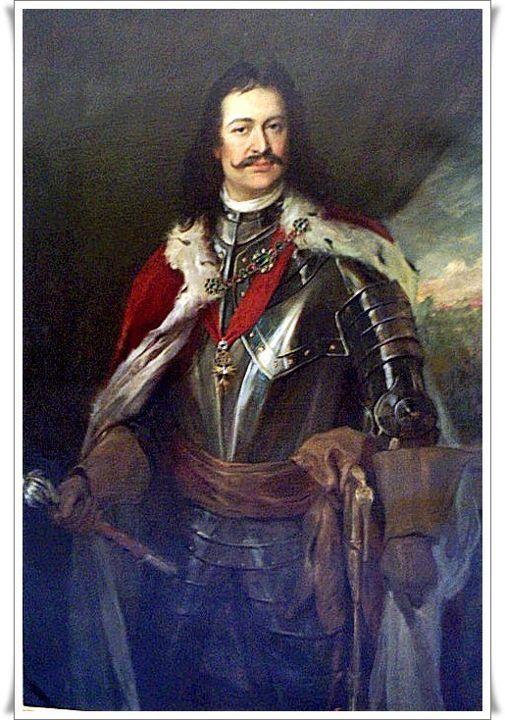 Painting Ferenc Rakoczi ll (1676-1735) Hungary