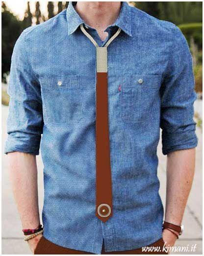 Cravatta unisex in cuoio fatta mano. Il prodotto è disponibile in diversi colori ed è possibile personalizzarlo.