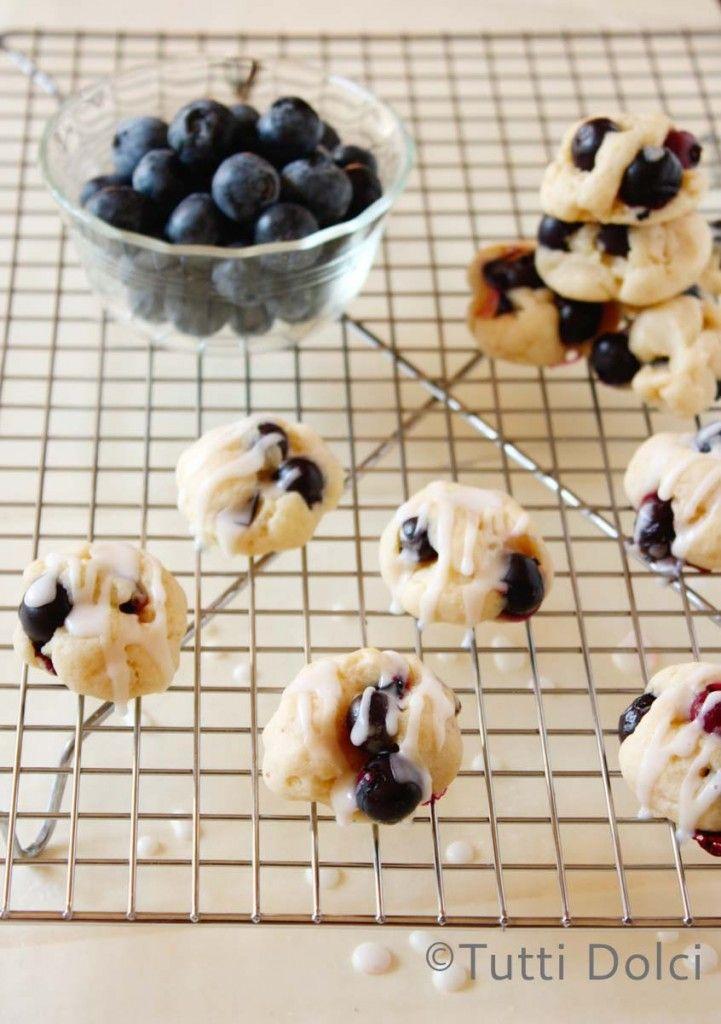 Lemon Glazed Blueberry Bites | Tutti Dolci @Laura | Tutti Dolci