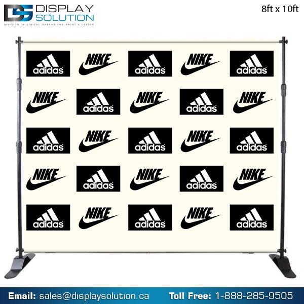 These free standing Telescopic banner Stands, also known as a Step and Repeat Banner Stands, are versatile, having the ability to be used as both a single or double sided banner display unit. Adjustable on both width and height, the unique telescopic design can display banners ranging from 8ft to 12ft wide and 8ft tall. For more information  visit our online store: https://www.dxpdisplay.com/step-and-repeat-backdrop-banner-stand-wall.html
