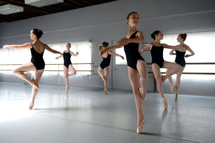 Young dancers at the Classical Ballet Academy Summer Camp