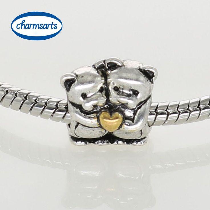 Cheap Encantos de plata diseño Original Beads europea DIY del oso de peluche Frog Animal Charm ángulo de corazón mezclado castillo, Compro Calidad Dijes directamente de los surtidores de China:                   1 unidades Envío Gratis                                       Charm encaja: DIY su p