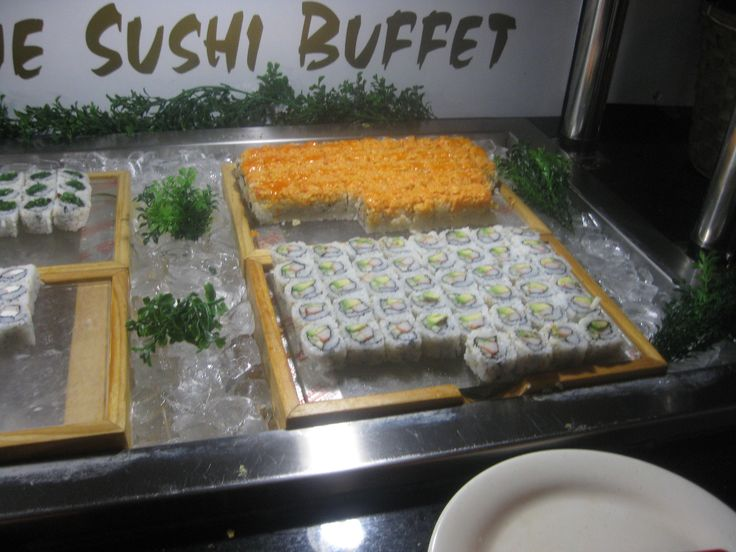 #healthy #Sushi #lunch at #HibachiBuffetSupremeGrill in #Delaware - http://www.drewrynewsnetwork.com/register