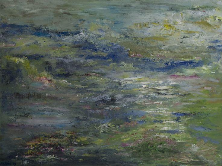 De zee. The Sea. Oilpainting on linnen. Size: 60 x 80 cm. FOR SALE: € 125,00