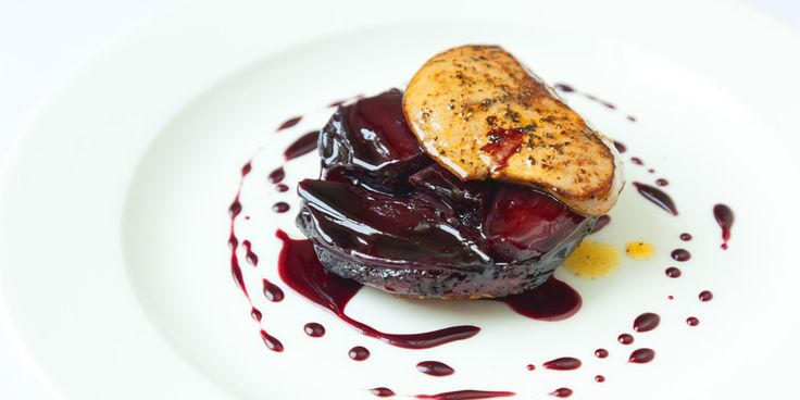 Chicken liver add a wonderful richness to shallot tarte Tatin in this dish by Bruno Loubet.