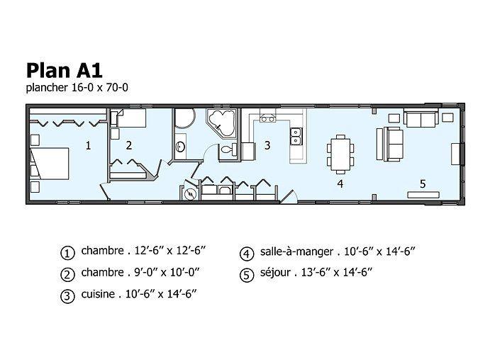 Maison neuve lofts modulaires mod le lma maison modulaire pinterest - Plan de maison modulaire ...
