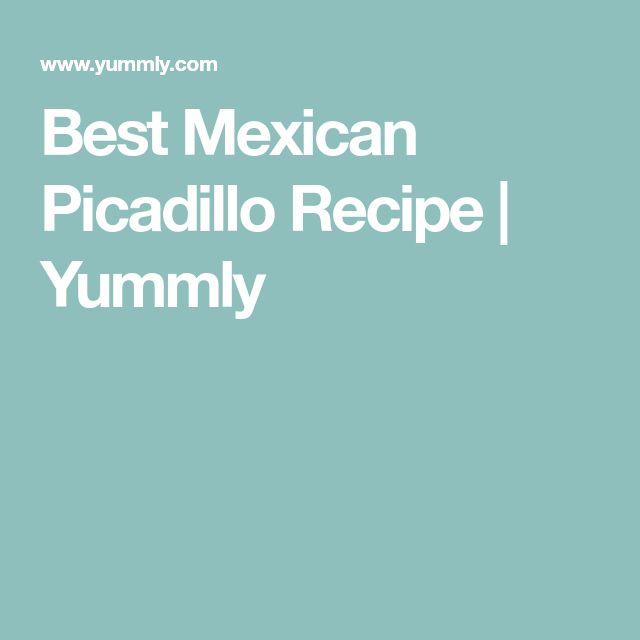 Best Mexican Picadillo Recipe | Yummly