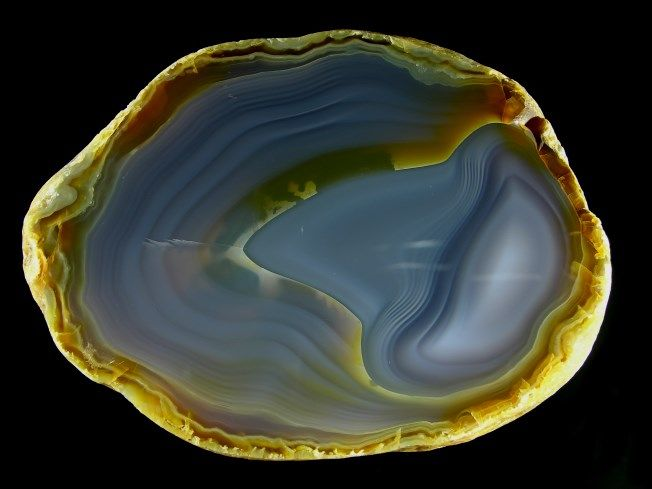 agate specimen from MADAGASCAR, achate.at