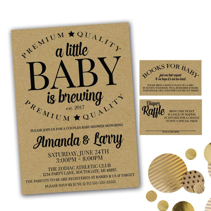 77 best Baby Shower Invitations images on Pinterest | Invitation set ...