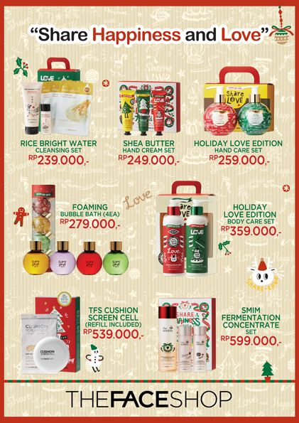 2014 December design for THEFACESHOP Indonesia. @LovelyDay Story