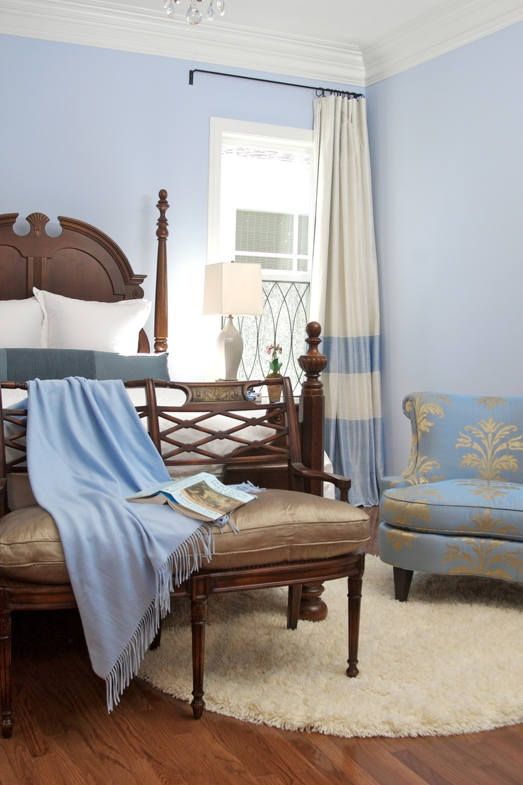 blue guest bedroom - Bedroom Design Concepts