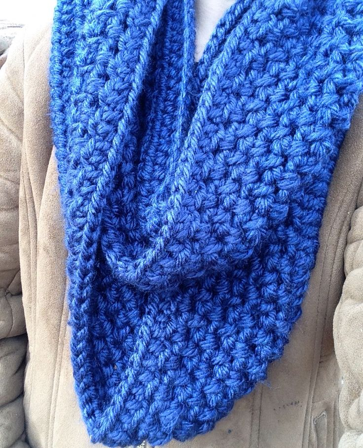Infinity scarf from Maddie and me crochet   www.facebook.com/maddieandmecrochet
