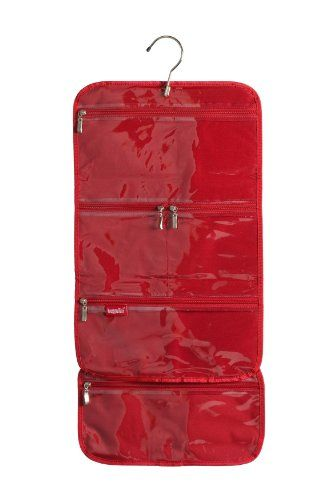 Baggallini Luggage Hanging Cosmetic Bag, Red, One Size Baggallini http://www.amazon.com/dp/B000E4C9SS/ref=cm_sw_r_pi_dp_8JDKtb04K710ZC8T