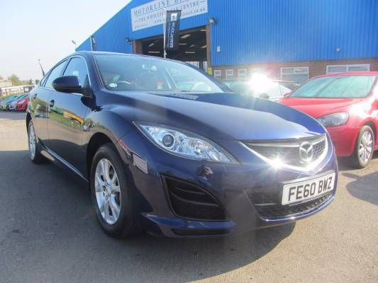 Used 2010 (60 Reg) Blue Mazda 6 2.0 TS 5dr Auto For Sale On