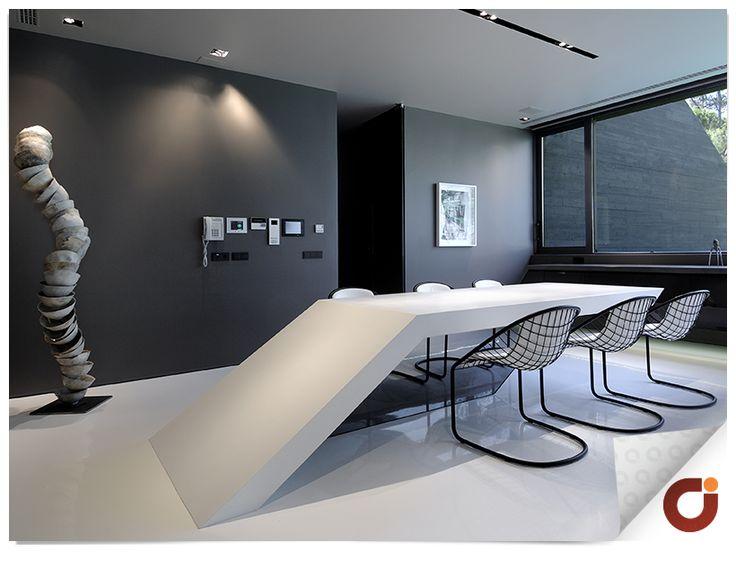 Espacio que puede ser utilizado como sala de reuniones.
