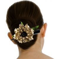 Floral Daffodil Leather Hair Clip (Golden)  http://www.excluzy.com/floral-daffodil-leather-hair-clip-golden.html