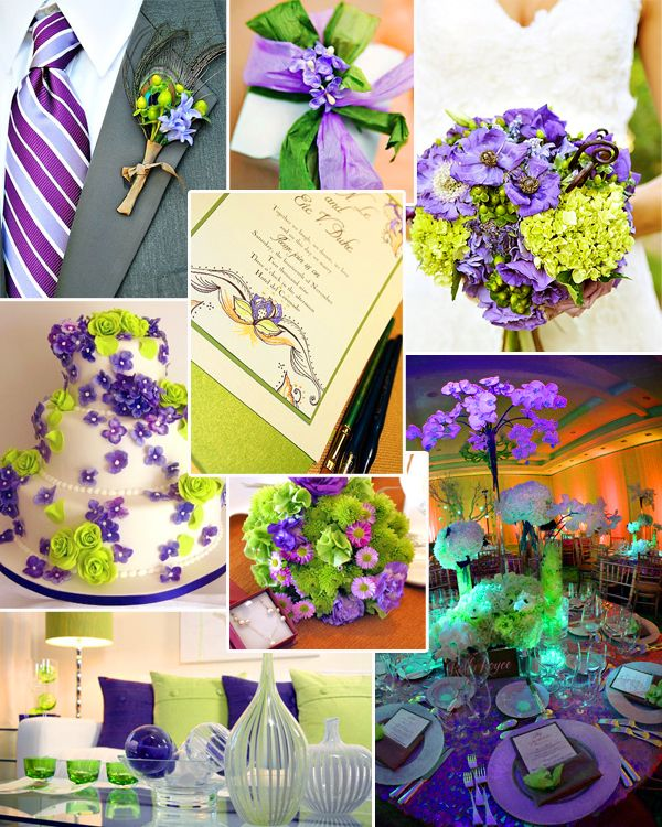 lime green and purple wedding decorations 270 best wedding purple amp green images on 5550