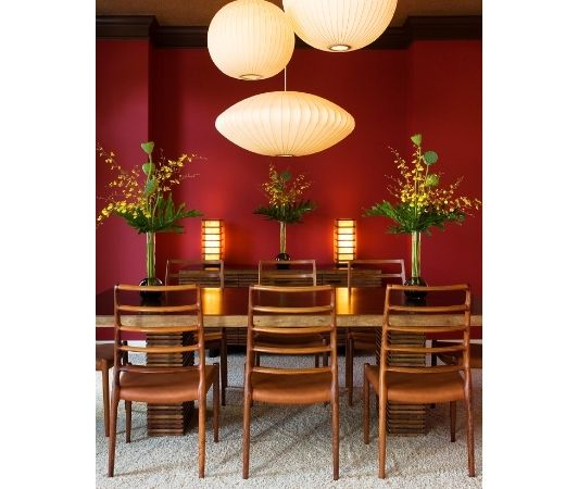 Asian Inspired Dining Room Design Ideas Pictures