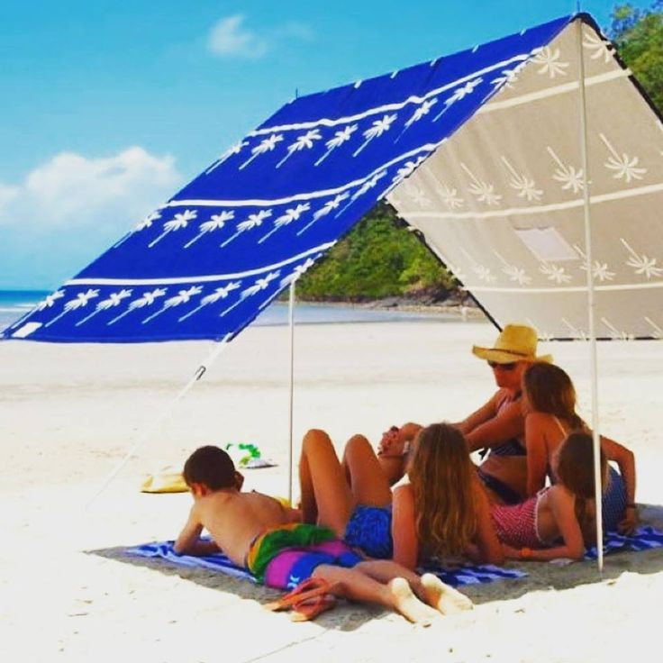 TAWKer Supporters - Blue Sky Days with great beach shade ideas that pack nicely away.  They have lots more and are offering 15% discount for TAWKers!