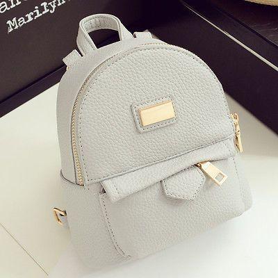 Women s Faux Leather Convertible Small Mini Backpack Rucksack Shoulder bag  Purse   Purses Backpacks   Bags, Backpacks, Mini backpack 349701a246