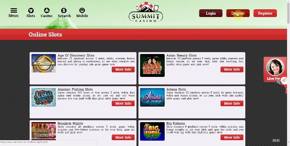 Enjoy Free Online Slot Games With Bonus Rounds now only at Summit Casino where you can claim £10 Free Slots No Deposit bonus to get started playing at the site. Experience the best Online Slots on the site and enjoy the fun and entertainment of the top rated, exciting games today - https://www.summitcasino.com/online-slots All new players that sign up with Summit Casino get given a totally free £10 Online Slots no deposit bonus to then enjoy the Free Online Slot Games With Bonus Rounds where…