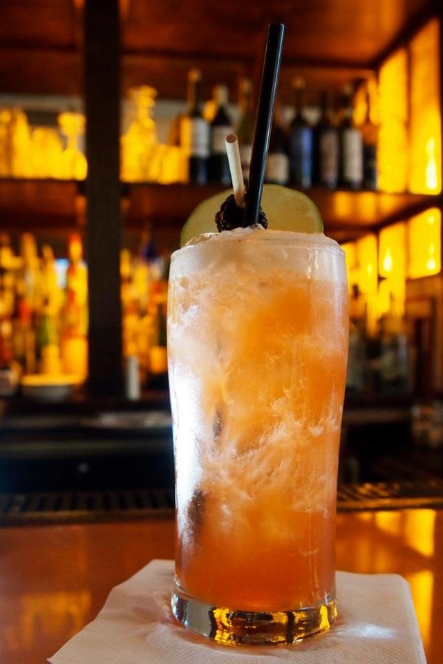 The Miracle on 43rd at Westport Cafe and Bar: 2 oz. Milagro Blanco infused with strawberry and lime peel,   3/4 oz. lime juice,   ½ oz. agave nectar,   2 dashes Angostura bitters; Shake and serve over fresh ice with a lime wheel and a blackberry.