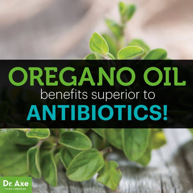 Oregano Oil Health Benefits better than Antibiotics Title