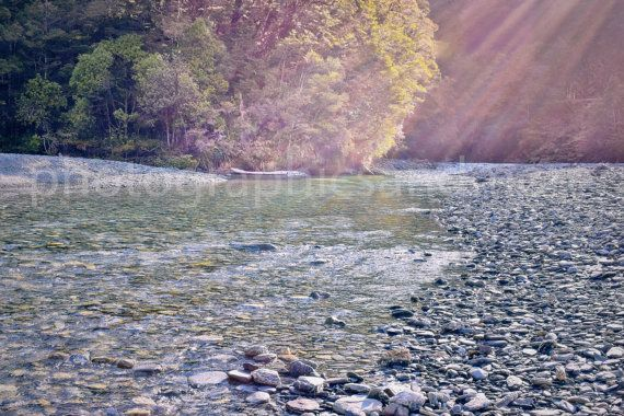 Digital Download Photo Ray of Light Green by photographicsandmore