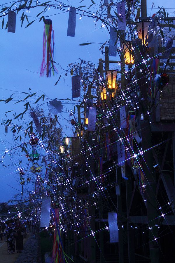Tanabata festival, Japan, July 7th each year
