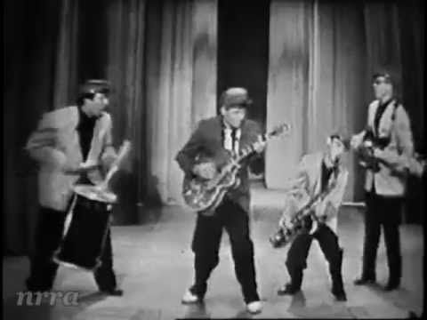 """wonderful, I just wish it could be a little longer""   Saturday Night Beech-Nut Show. July 19, 1958  ▶ Duane Eddy ""Rebel Rouser"" - YouTube"