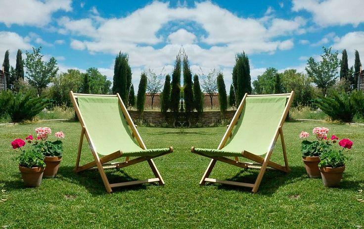 Las mejores tumbonas para relajarse en el jardín - http://www.decoora.com/las-mejores-tumbonas-para-relajarse-en-el-jardin/