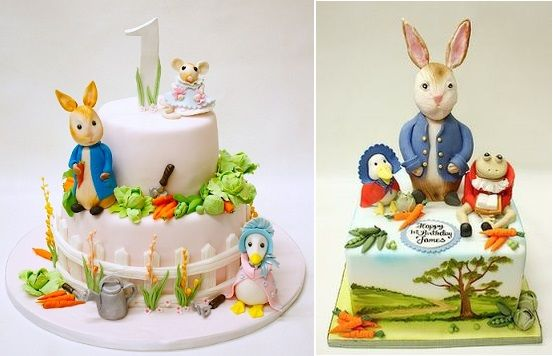 Beatrix Potter cakes by Lulu Cake Boutique