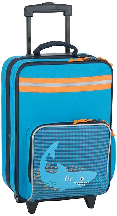 Taschenkaufhaus Lässig 4Kids Trolley Shark Ocean - Reisegepäck für Kinder: Category: Taschen & Koffer > Reisegepäck für…%#Quickberater%