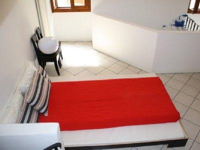 Bezauberndes Haus am Gardasee  Gargnano  - 2.OG: Studio - Doppelbetten, Schreibtisch - WC