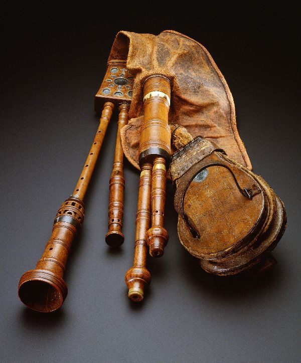 Bagpipe - 1750, now at the Hague Muesum. Website: Lowland & Borders Pipers…