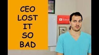#conference #insane #goes #call #ceo #onCEO GOES INSANE ON CONFERENCE CALL