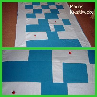 Liebevolle genähte Decke. Ich verkaufe diese.