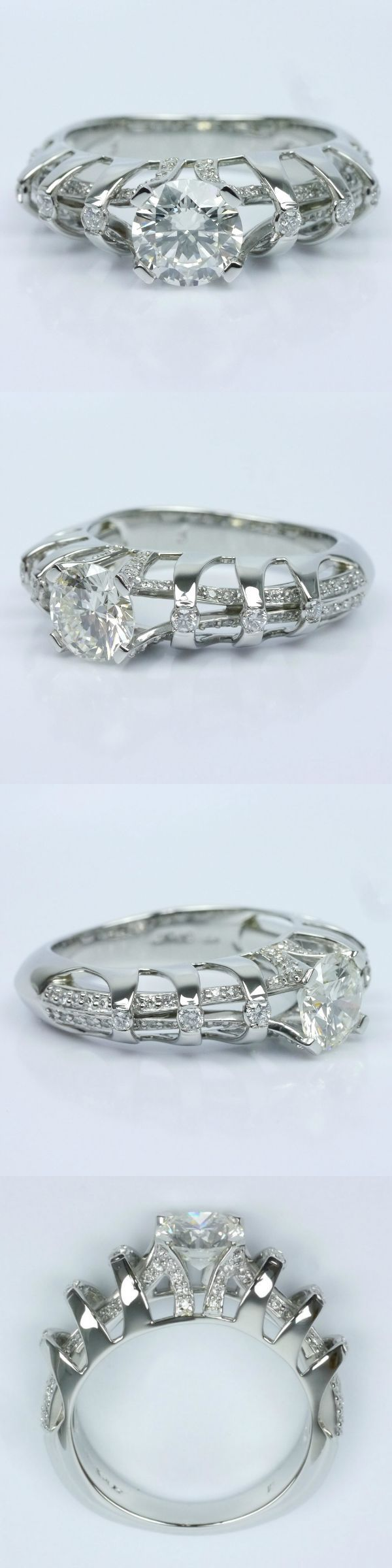 Crowned Split Shank Diamond Engagement Ring! Diamond/Gem Cost: $4,570 (Round 1.03 Ctw. Color: J Clarity: IF Cut: Super Ideal Certification: GIA Polish: Excellent) Setting Cost: $3,250 (Custom Split Shank Metal: Platinum Side Shape: Round Side Carat: .75 Side Color: I Side Clarity: SI1-SI2 Side Cut: Ideal) Total Cost: $7,820 https://www.brilliance.com/recently-purchased-rings/crowned-split-shank-diamond-engagement-ring