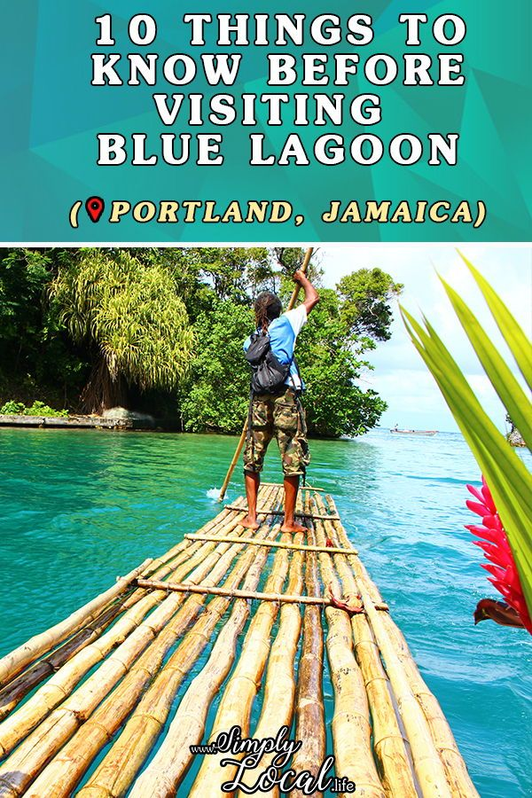 Jamaica S Blue Lagoon In Portland Is A Natural Beauty