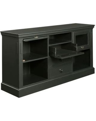 Broyhill Broyhill New Vintage TV Stand 4808-055/4809-055 Finish: Ebony from Wayfair | BHG.com Shop