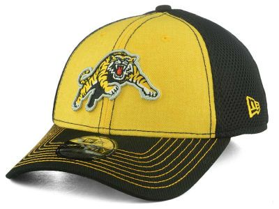 Hamilton Tiger-Cats New Era CFL Heathered Neo 39THIRTY Cap