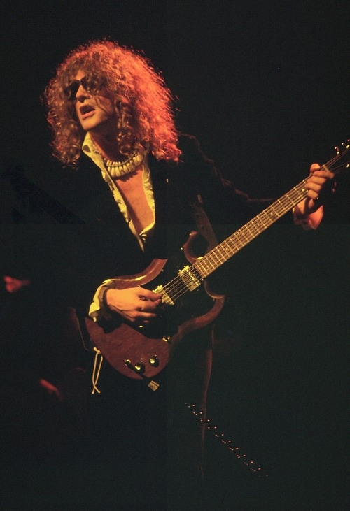 Ian Hunter, during his Mott The Hoople days