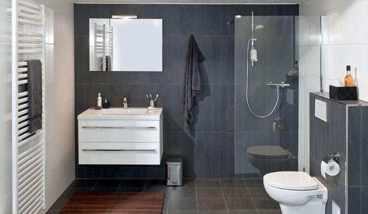 Badkamer: De All Inclusive badkamer is een complete badkamer inclusief installatie voor een zeer scherpe prijs.