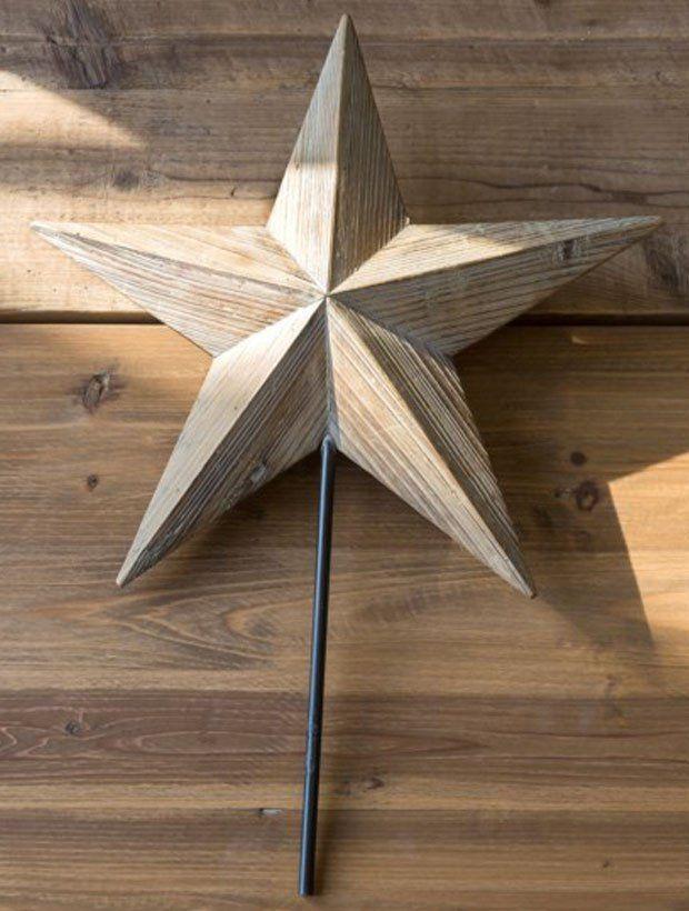 Wooden Star Tree Topper Diy Tree Topper Wooden Stars Christmas Tree Star Topper